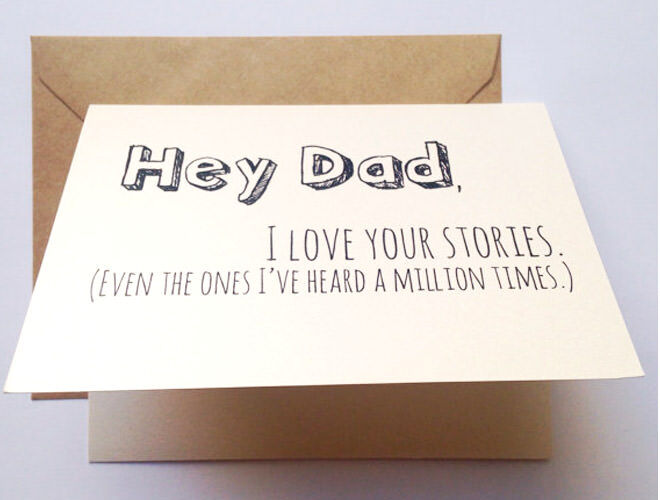 funny Father's Day card, Etsy