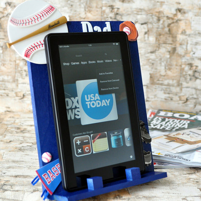 DIY gift Ideas for Father's Day: Decorate an e-reader | Mum's Grapevine