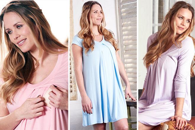 Floressa birthing gown | Mum's Grapevine