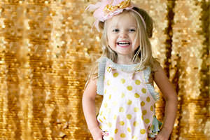 Gold is one of the biggest colour trends in kids fashion this year and we've collected out favourite picks to show you how to add a bit of bling to the little ones wardrobe