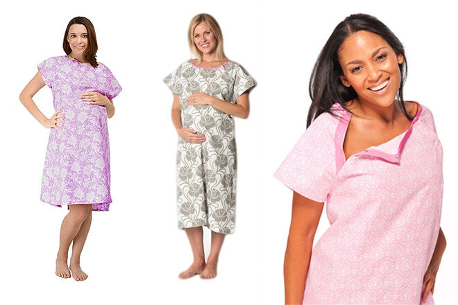 Gownies hospital gown | Mum's Grapevine