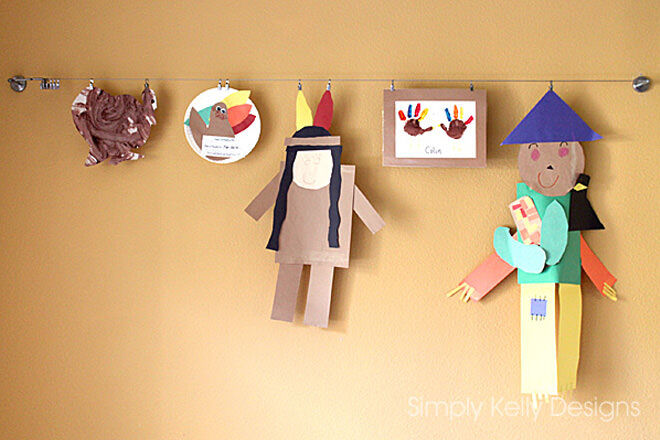 10 Ways To Display Kids Artwork Mum S Grapevine