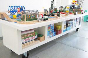 IKEA Hack: 9 ways to makeover the EXPEDIT bookshelf   Mum's Grapevine