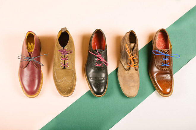 Father's Day gift ideas for the dapper dad: Coloured shoe laces by Maverick | Mum's Grapevine