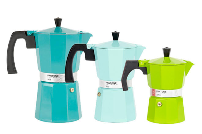 Father's Day Gift Ideas for Foodie Dads: Pantone Colour Coffee Maker | Mum's Grapevine