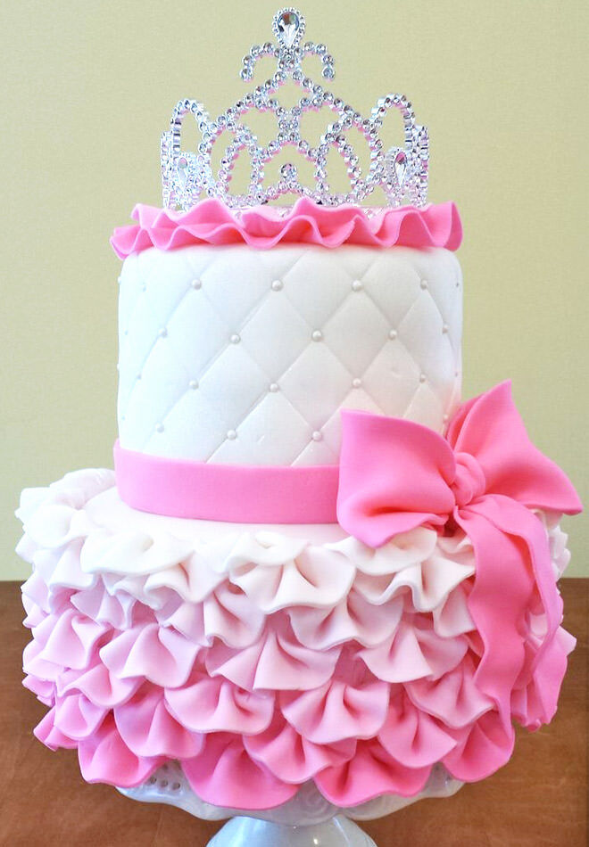 11 Princess Cakes For A Perfect Pink Birthday Mum S