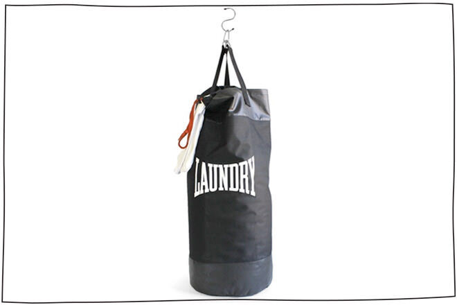 Gift Ideas for sporty dads: Laundry Punch Bag | Mum's Grapevine