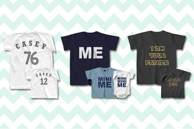 Gift Ideas for New Dads: Father and Son Tees | Mum's Grapevine