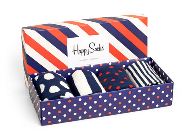 Father's Day gift ideas for stylish dads: Happy Socks gift box | Mum's Grapevine