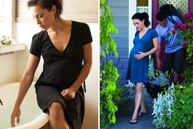 Womama Birthwrap Dress | Mum's Grapevine