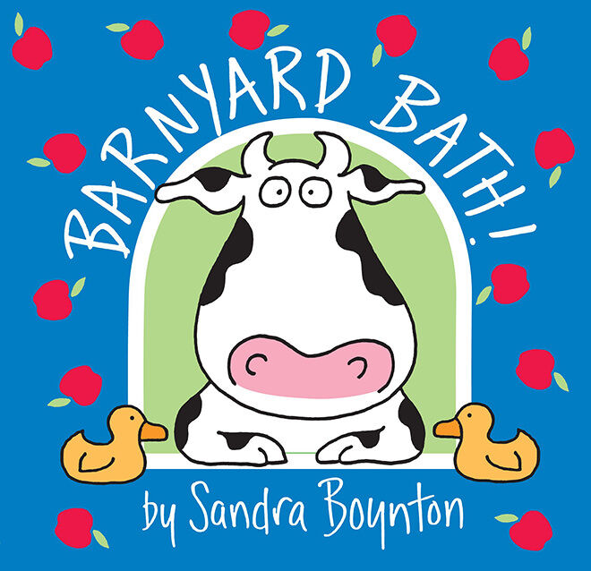 bath book - barnyard