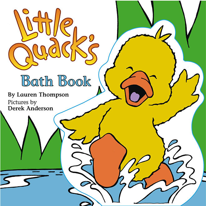 bath books - quacks