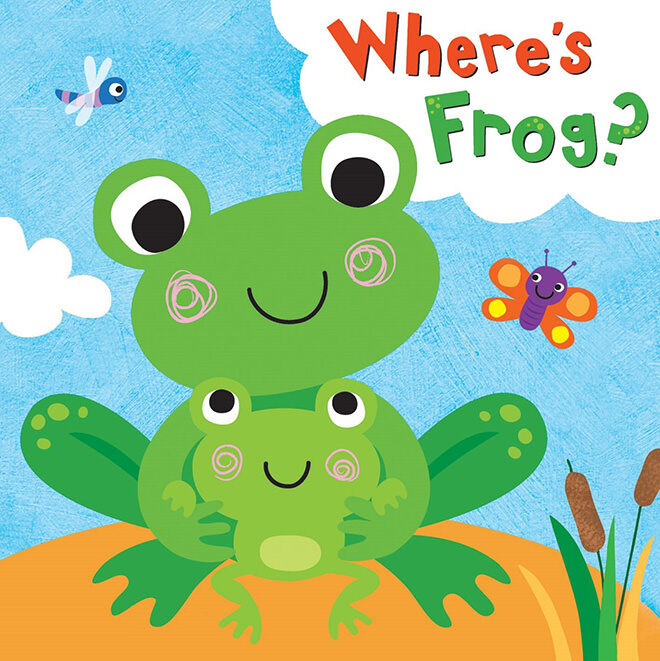 bathbook - where's frog