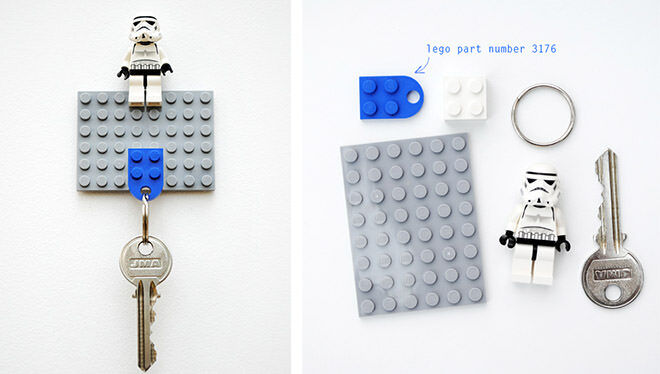Homemade LEGO keychain for Father's Day | Mum's Grapevine