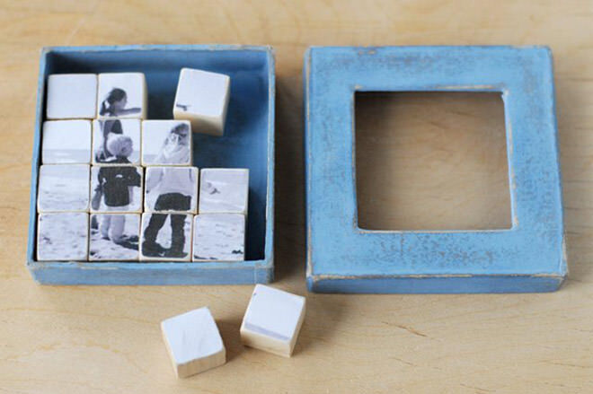 12 DIY gift ideas for Father's Day: Black and White Photo Puzzle | Mum's Grapevine
