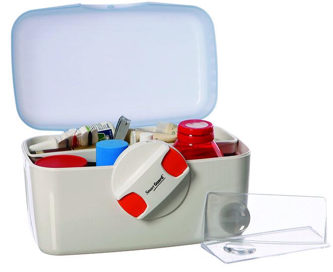 first aid - lockable box