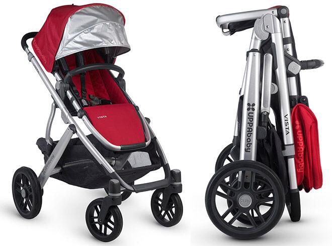 10 prams you can fold with one hand: UPPAbaby Vista | Mum's Grapevine