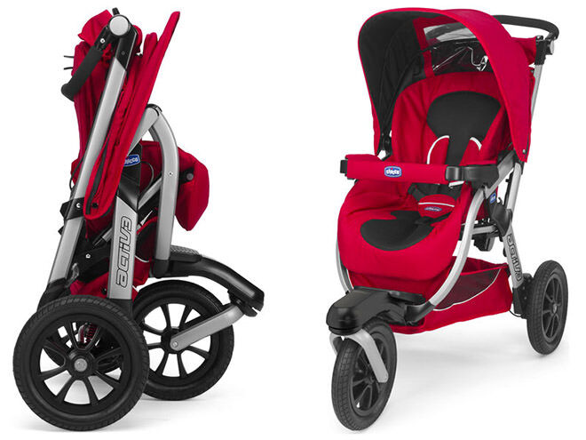 10 prams you can fold with one hand: Chicco Active Stroller | Mum's Grapevine