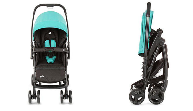 10 prams you can fold with one hand: Joie Pram | Mum's Grapevine
