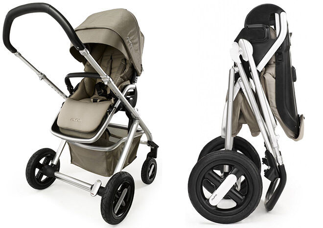 10 prams you can fold with one hand: Nuna Ivvi Stroller | Mum's Grapevine