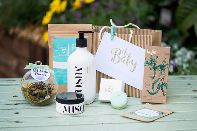 Mum's Grapevine presents Elise Swallow's baby shower for #babyswallow with goodie bags for the guests