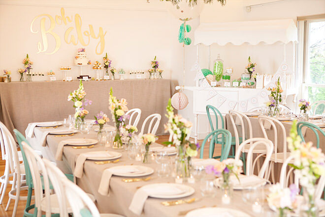 Mum's grapevine presents Elise Swallow & Andrew Swallow's baby shower for #babyswallow