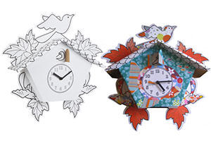 Mickey & Stevie DIY cuckoo clock