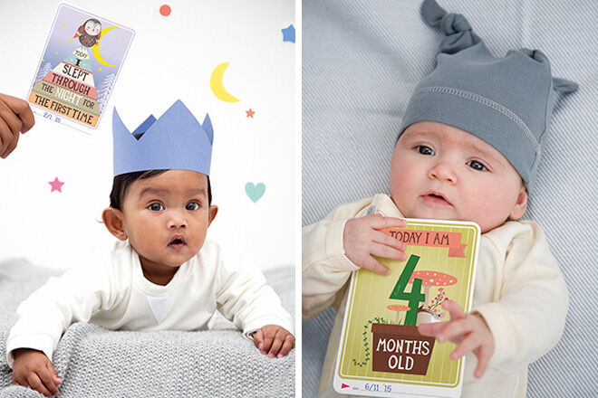 8 creative ways to record baby's first year