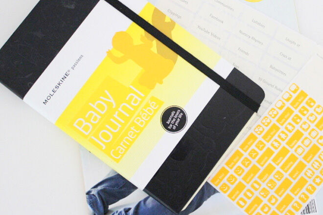 A nice and compact journal to quickly record bub's milestones in their first year.