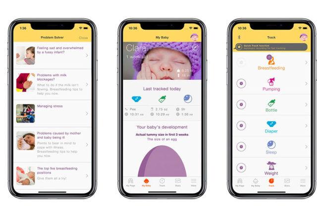 MyMedela App for breastfeeding mums
