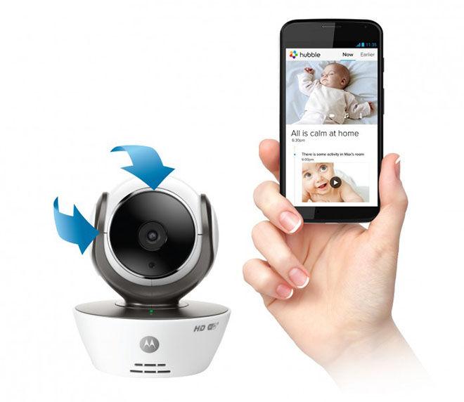 Motorola MBP85 HD Wifi Video Baby Monitor