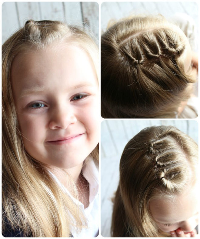 Have some twisty fun with this easy peasy hairstyle.