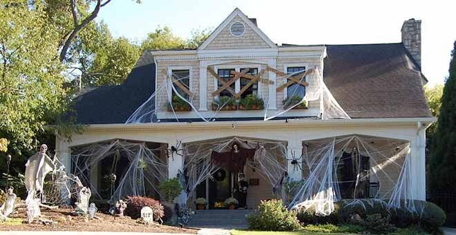 The best Halloween house we've ever seen!