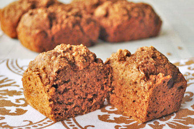 This apple and cinnamon bread is super quick and easy to make. Great for afternoon tea!