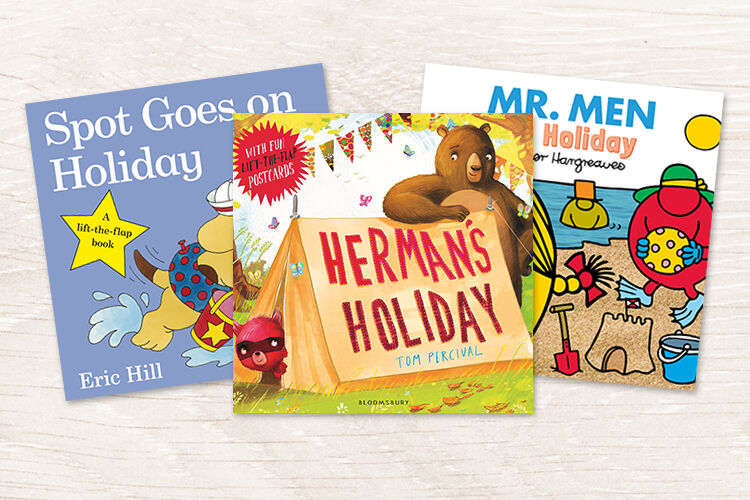 10 books for kids about going on holiday