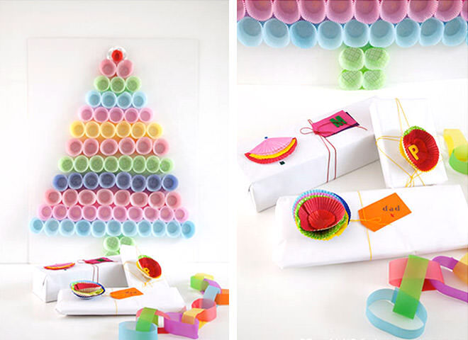 Easy Christmas gift wrap ideas