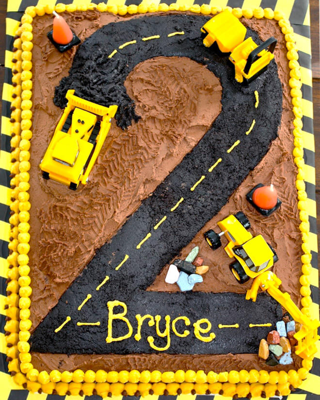 Cakespiration 12 Construction Cakes They Ll Really Dig