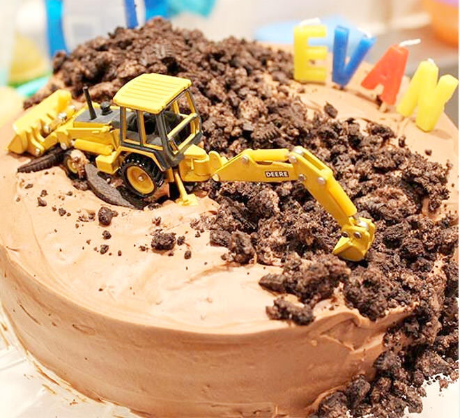 Cakespiration 12 construction cakes theyll really dig Mums