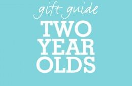 Gift Guide Two Years Old