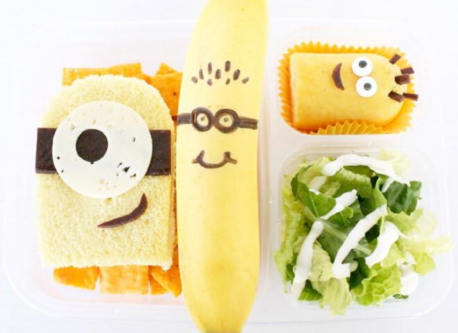 If your small fry is Minion mad then send them to school with a Minion lunch box.