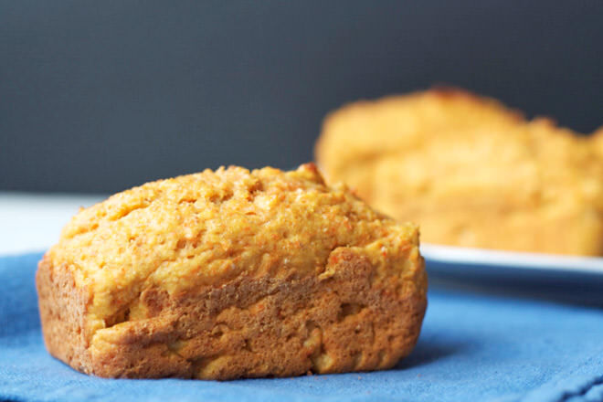 These lovely little carrot and pear loaves are beautifully moist, nut-free and packed full of flavour - perfect for popping in the school lunch box!