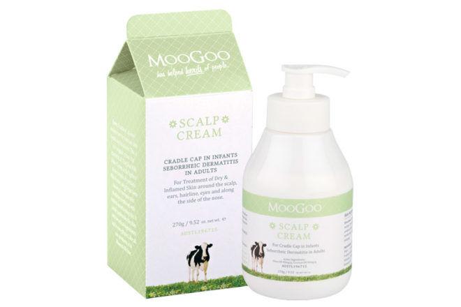 MooGoo scalp cream for cradle cap
