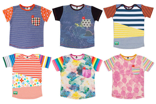 Summer tees from Oishi-m