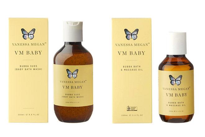 Vanessa Megan Baby Bath Wash
