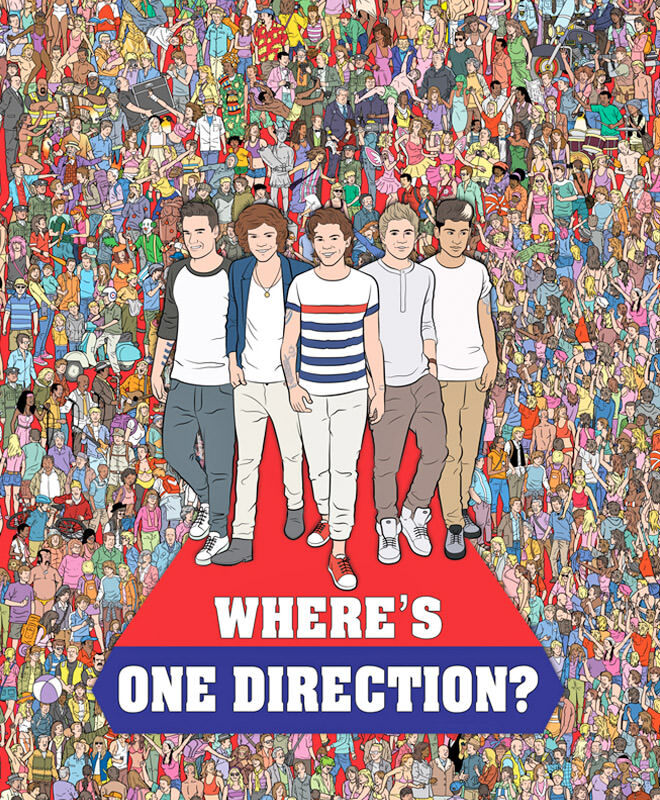 Where's One Direction? book