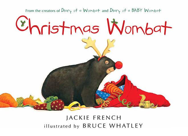 Christmas Wombat