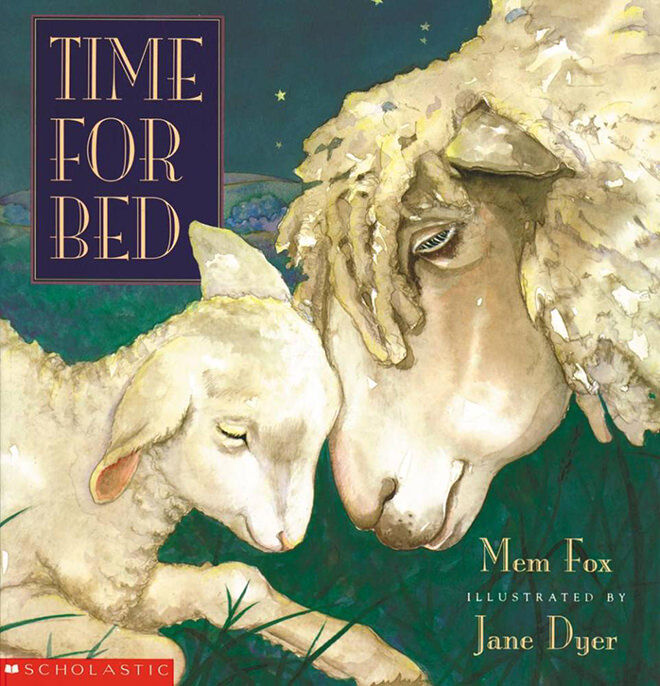 book - time for bed