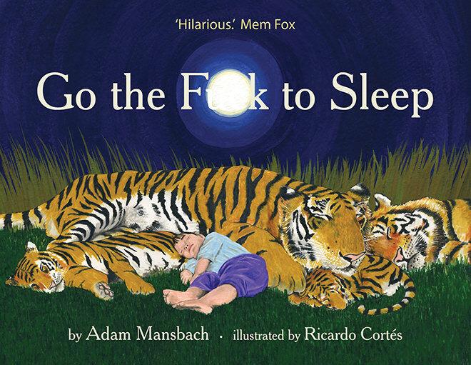 books - bedtime go the fuck