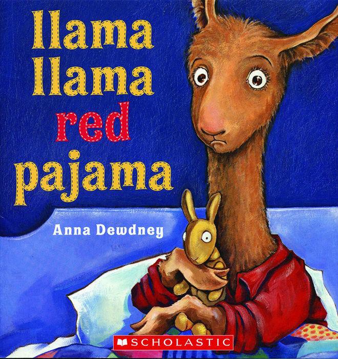 books - llama llama