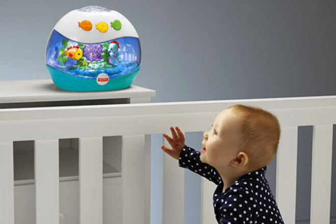 Fisher Price calming sea projector soother